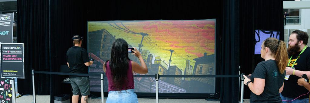 Virtual Reality Graffiti Artist
