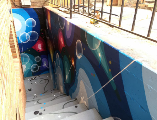 West Seattle Private Residential Graffiti Mural Installation
