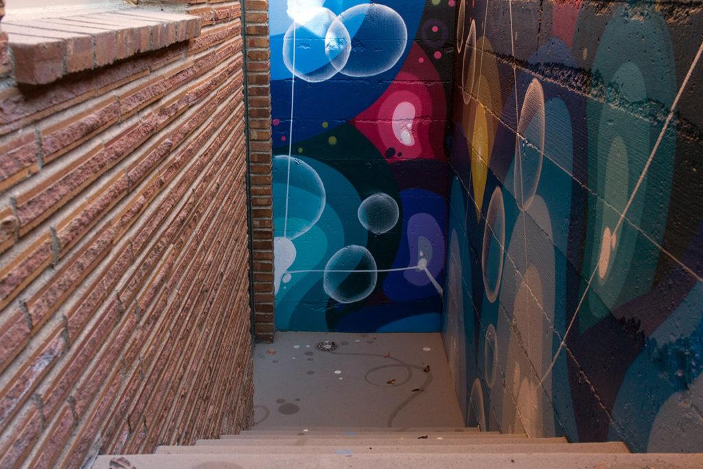 Graffiti Art in Seattle Residence
