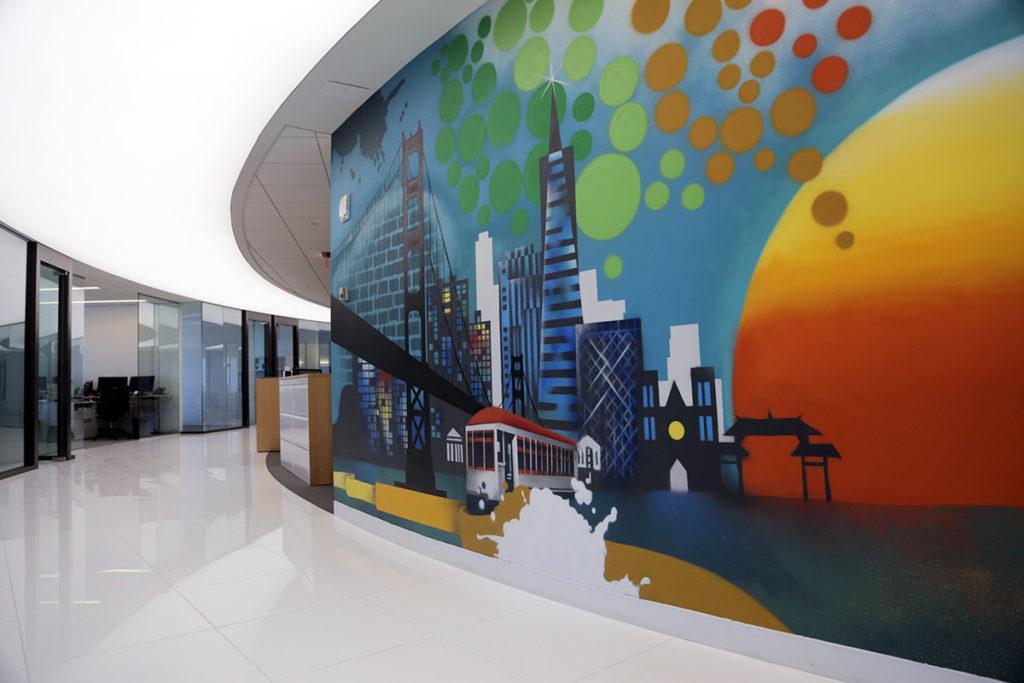 Spectrum Equity Mural