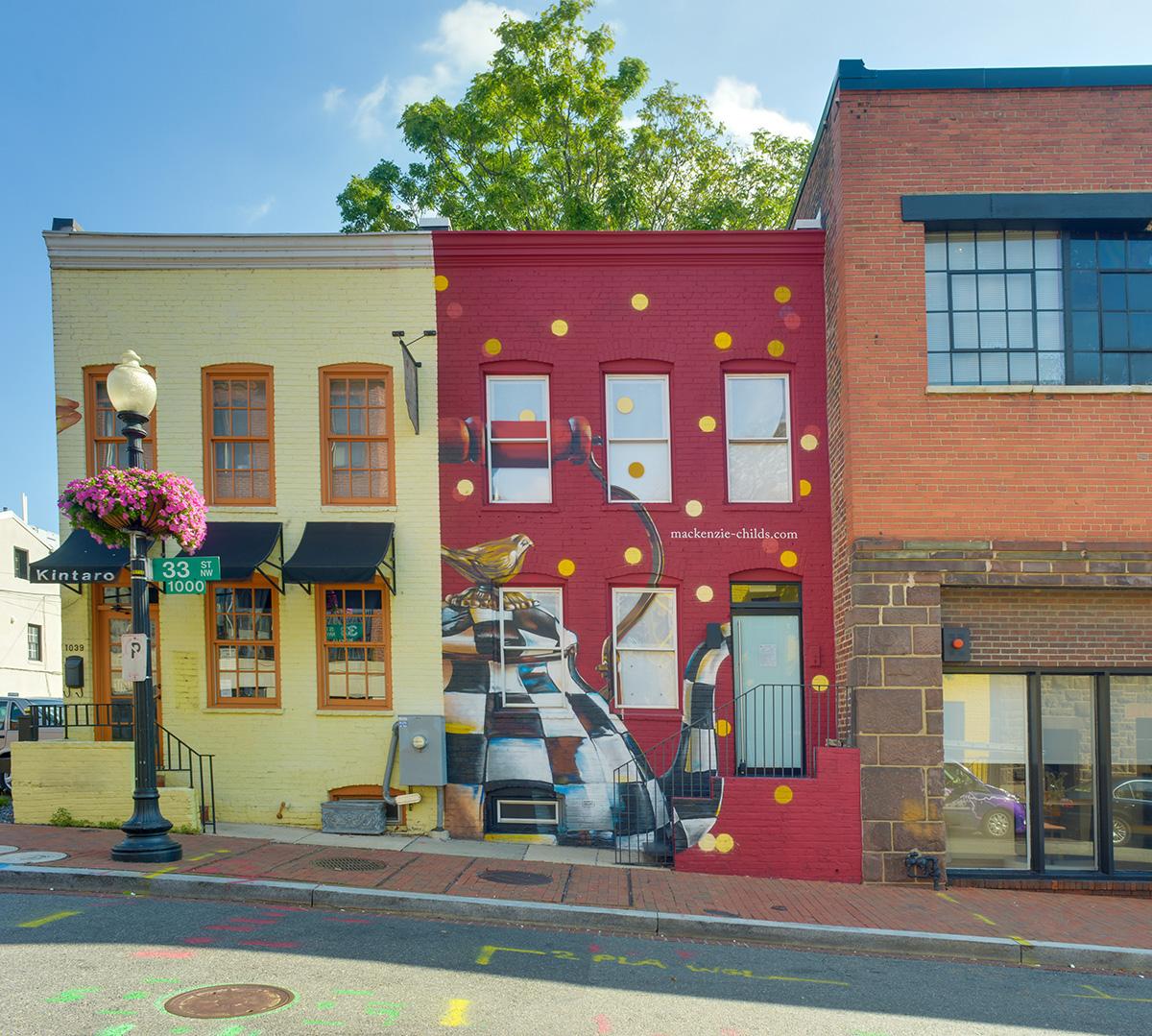 Street Mural Artist for Hire
