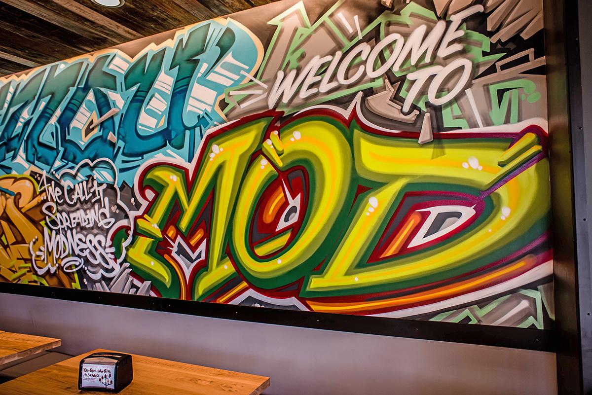 MOD Pizza Missouri Graffiti