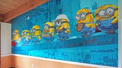 Minion Graffiti for Andrus School