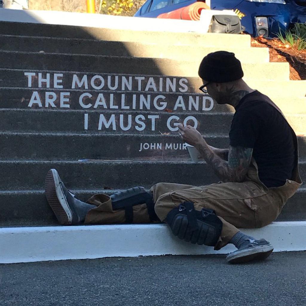 San Fransisco Graffiti, San Fransisco Sign Painter, San Fransisco Mural