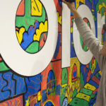 L.A. Adidas Finish Line Graffiti Street Art
