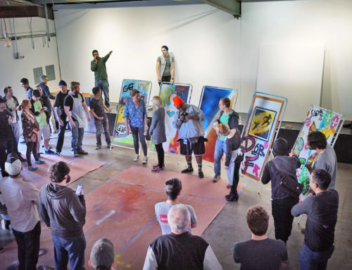 Graffiti Street Art Workshop for Riot Games in Los Angeles