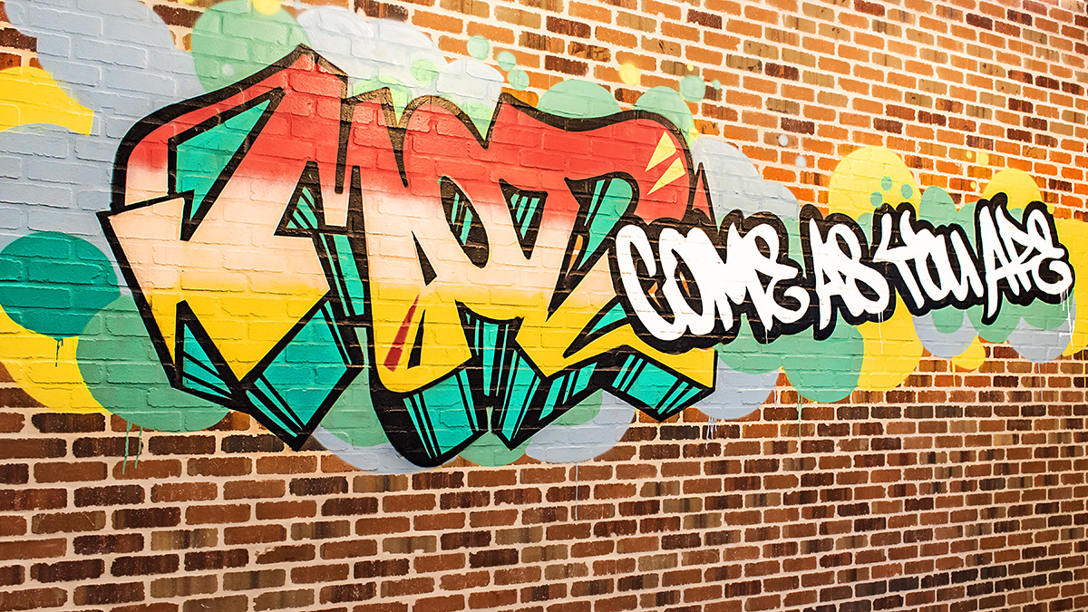 MOD Pizza Street Art