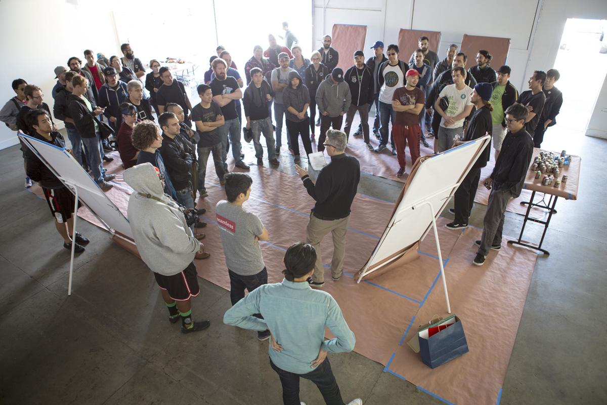 Graffiti & Street Art Workshop in Los Angeles