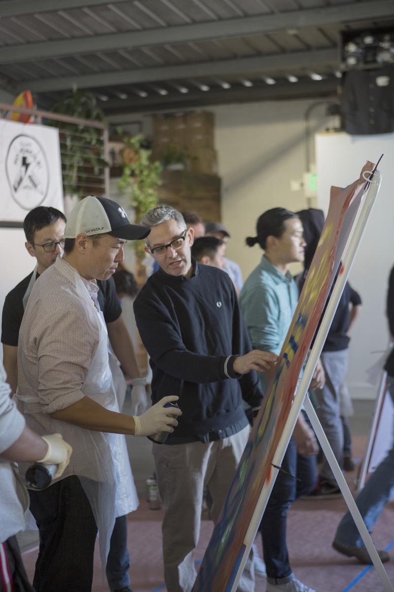 LA Team Building Workshop - Graffiti Artist Host