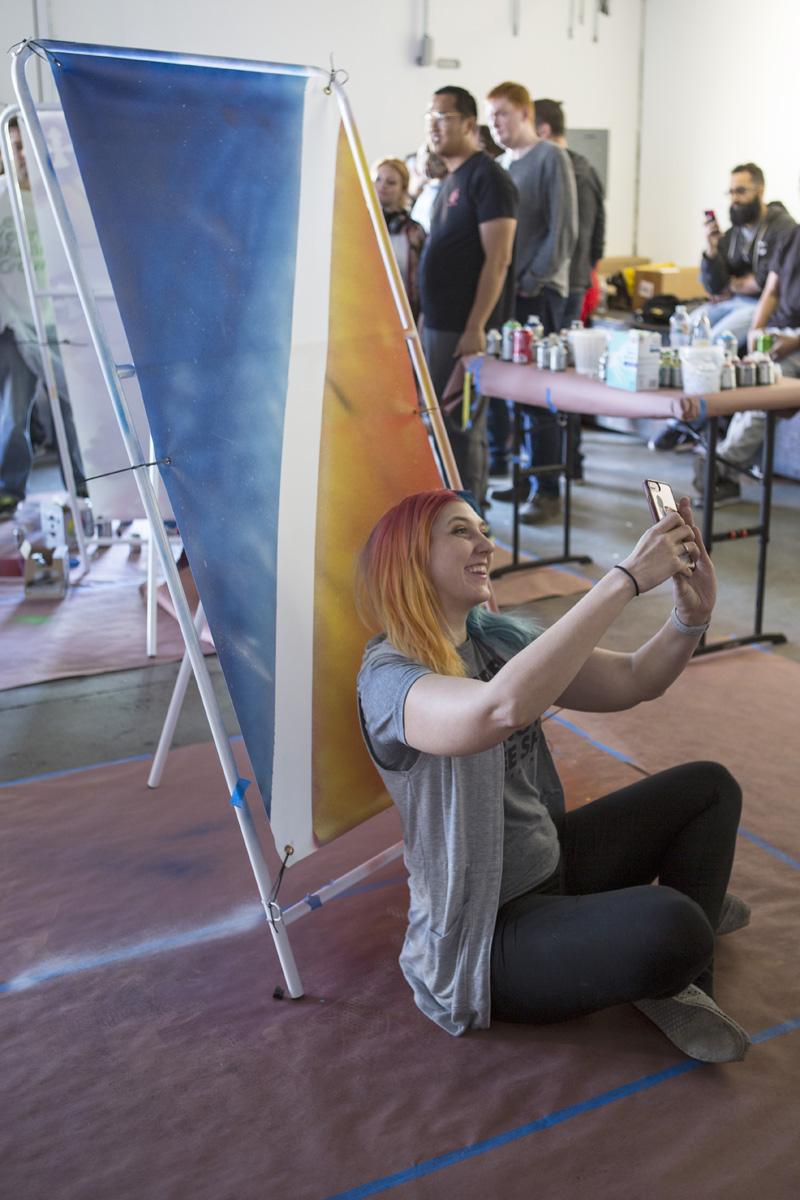 LA Team Building Event for Street Art