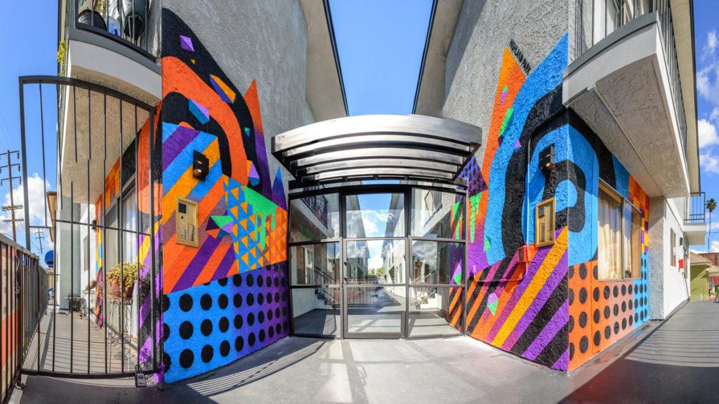 Luxury Condo Mural
