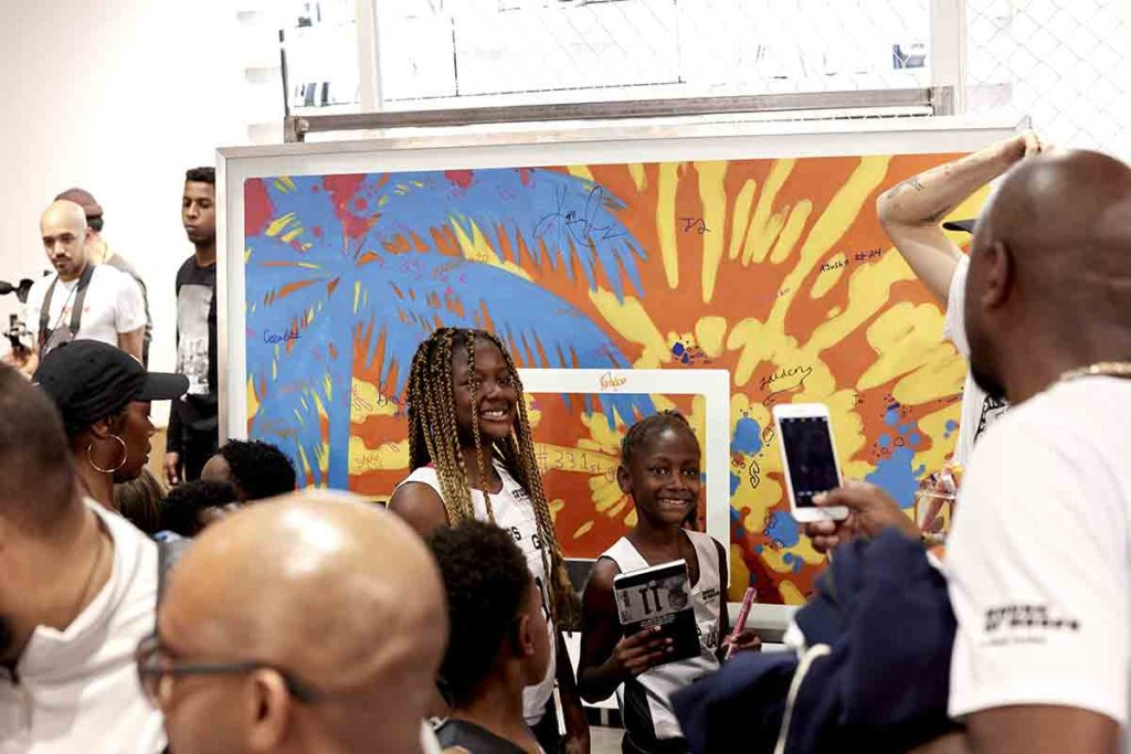 Basketball Court Mural Event