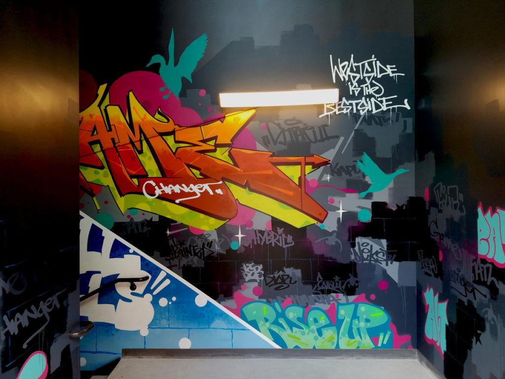 Graffiti Art Atlanta - The Painted Duck