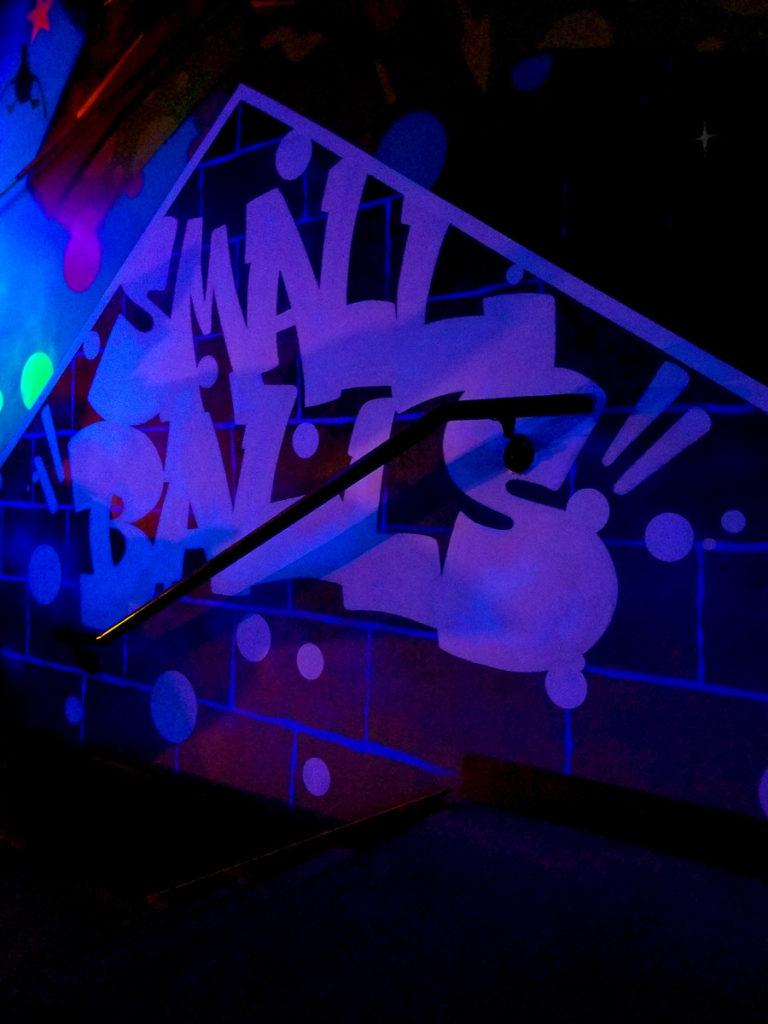 Small Balls - Bowling Graffiti Art Atlanta
