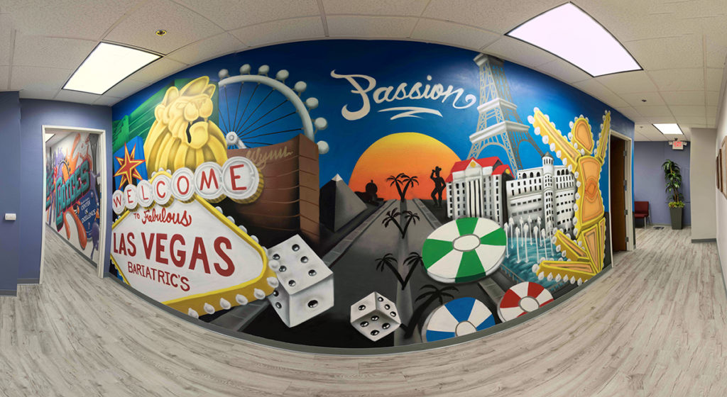 Welcome To Las Vegas Mural