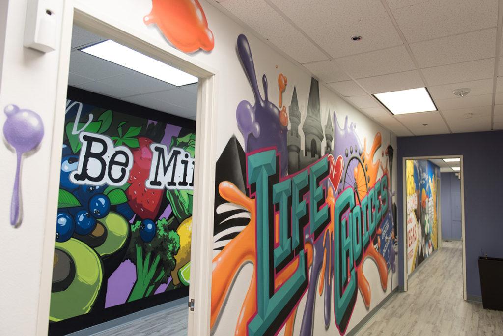 Office Mural in Las Vegas
