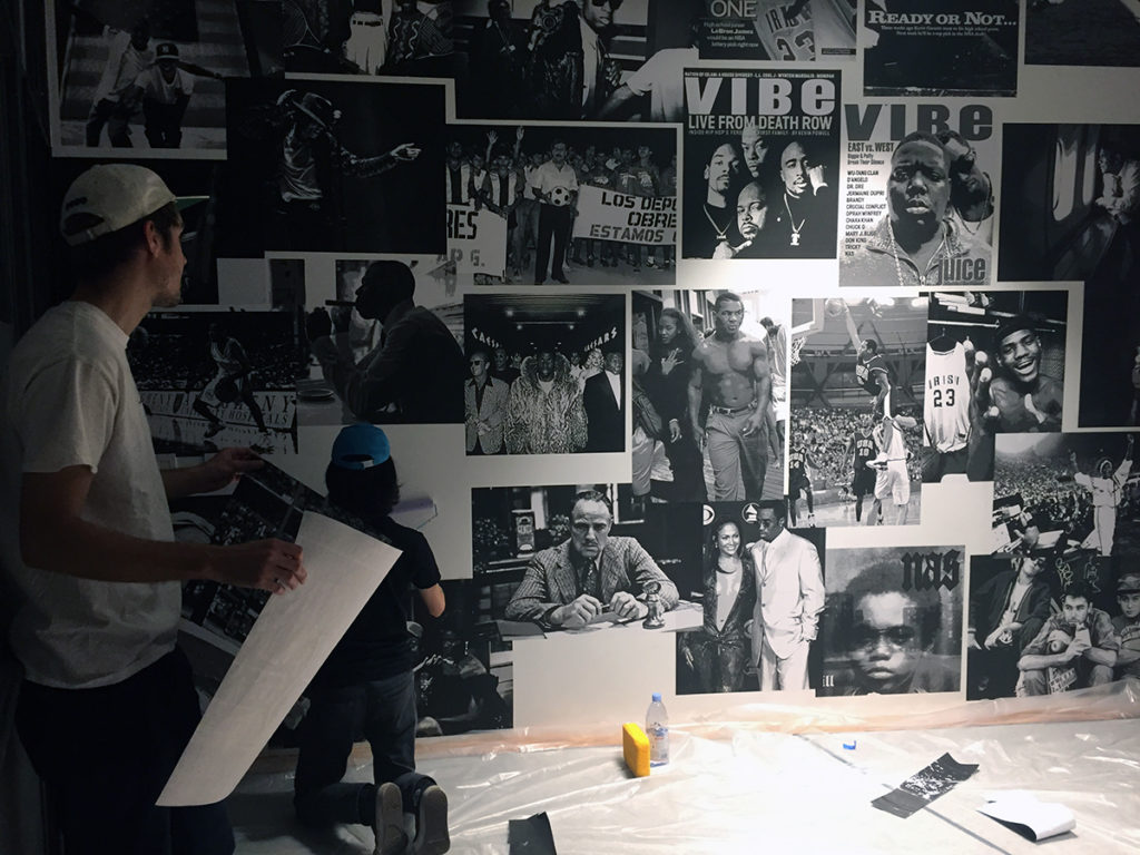 Poster Mural Collage