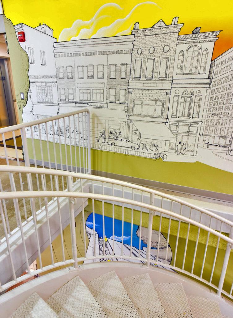 washington dc office mural oilbar