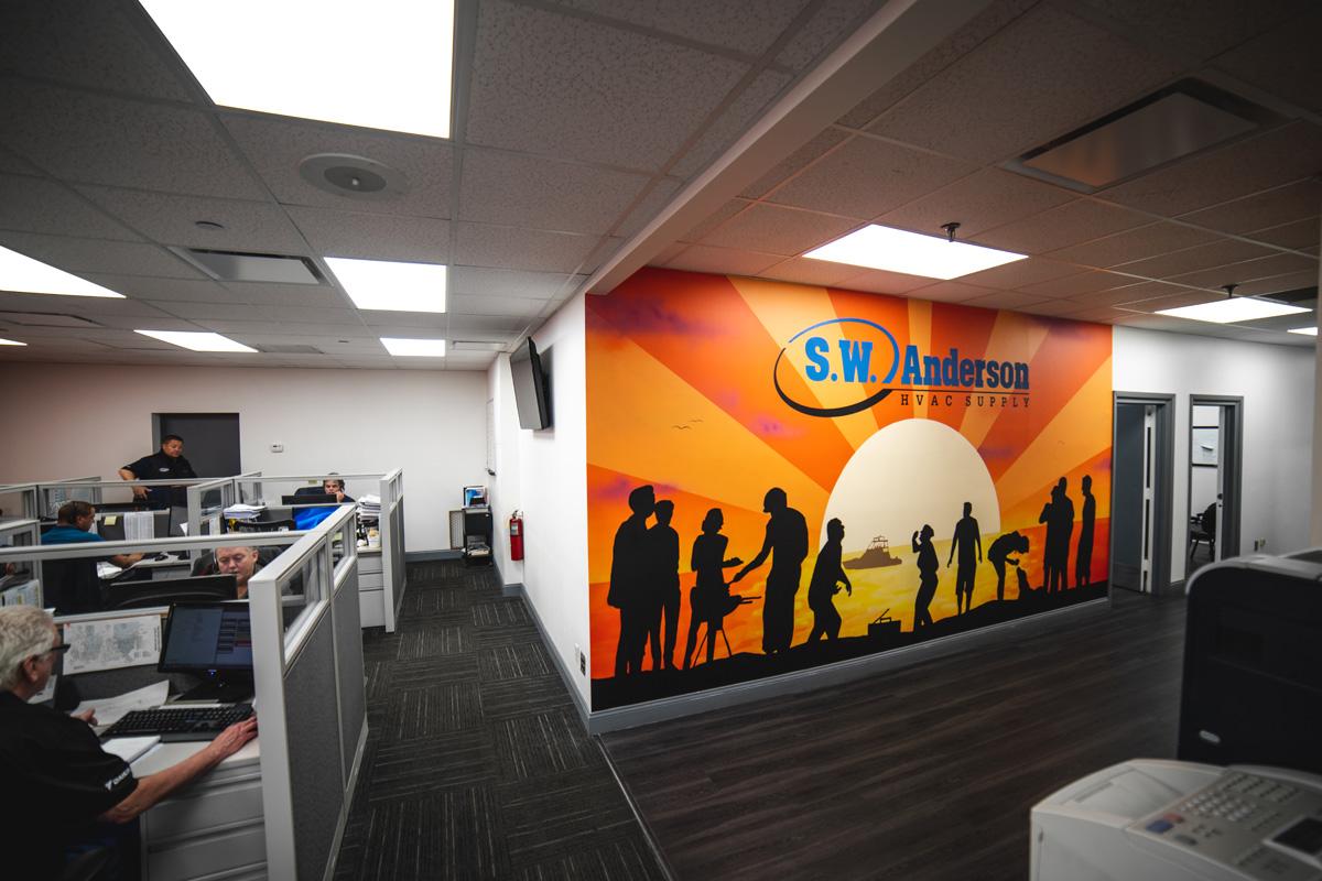 office muralist SW Anderson