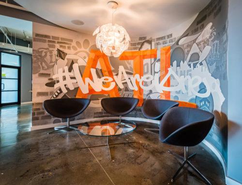 Atlanta Georgia Corporate Office Interior Mural