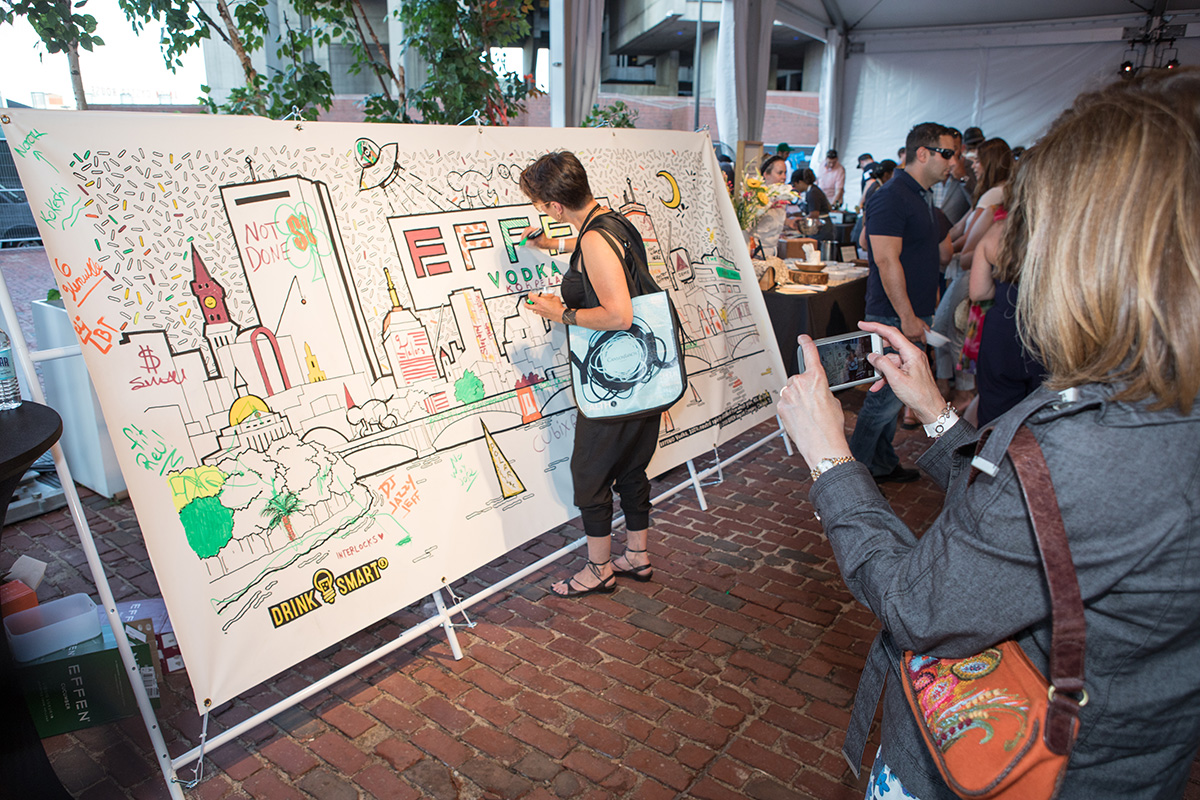 Coloring Mural Interactive Event For Best Of Boston 2018