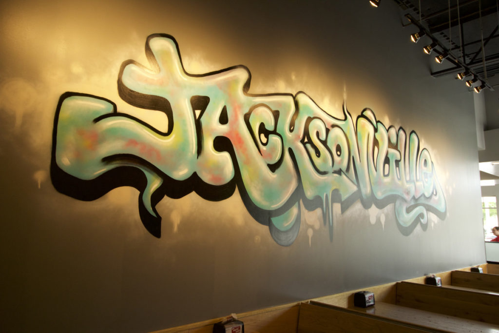 Jacksonville Graffiti Artist