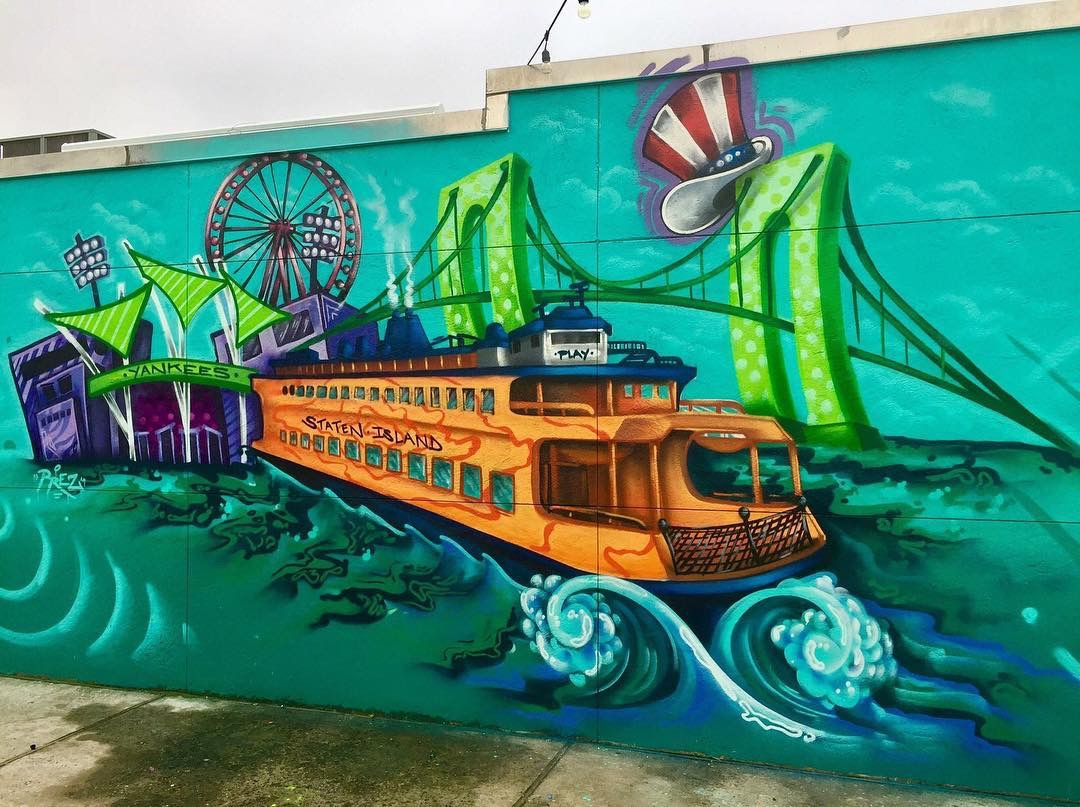 Staten Island Graffiti Art Mural