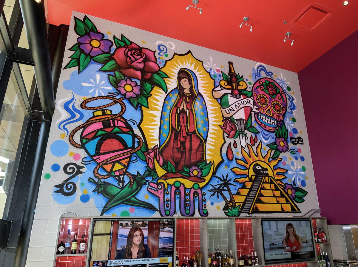 dallas texas mexican graffiti art