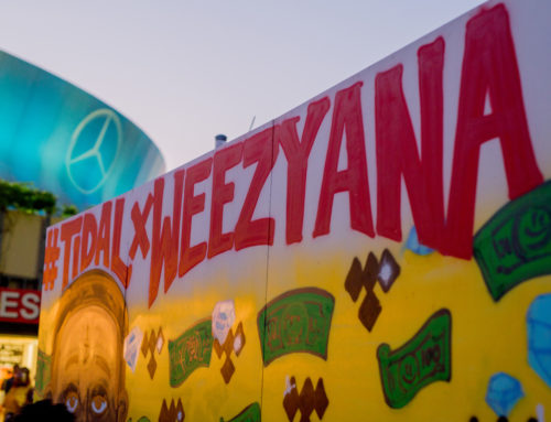 Graffiti Artwork for Lil Wayne's Weezyana Fest in NOLA
