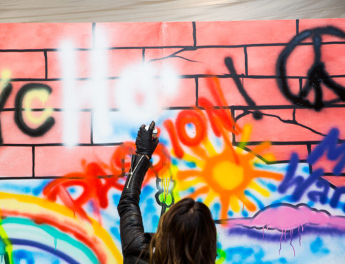 Graffiti Workshop Demonstration in NY for Private Client