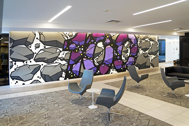 Lobby Mural Art NJ