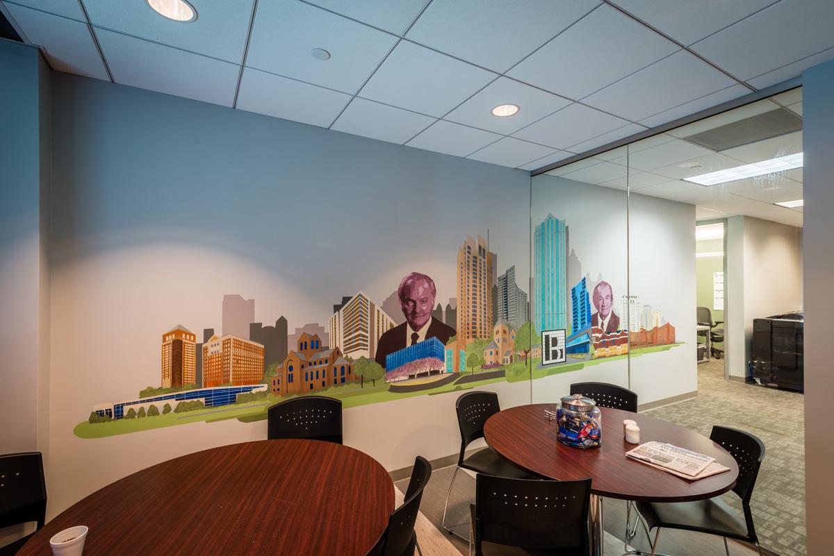 ATL Office Mural