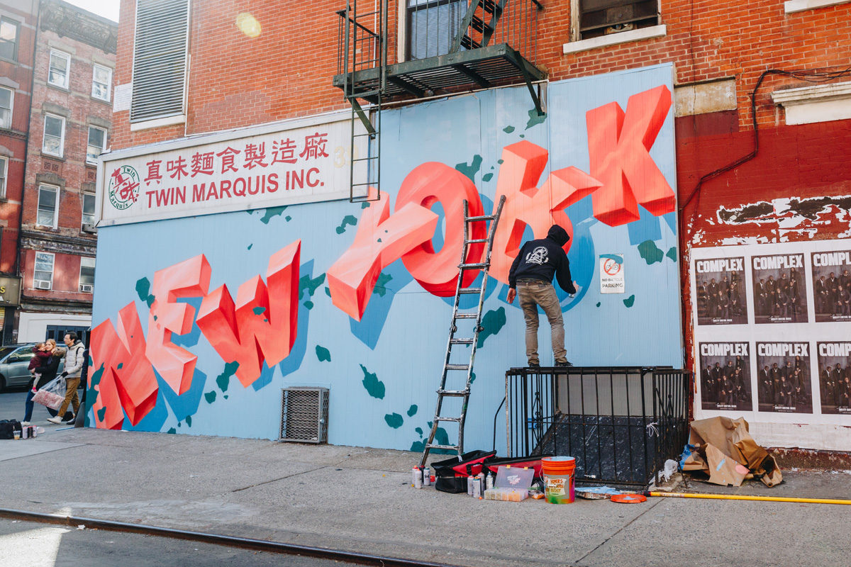 lower east side graffiti artist