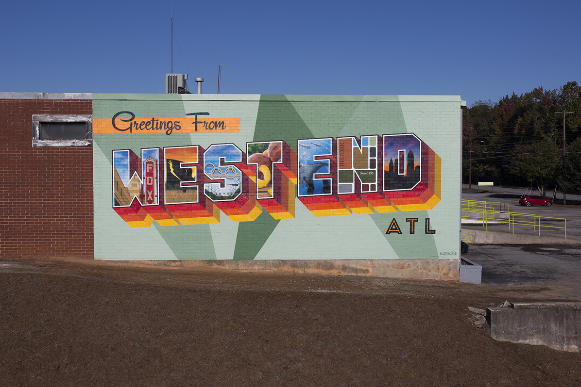 Atlanta West End Mural