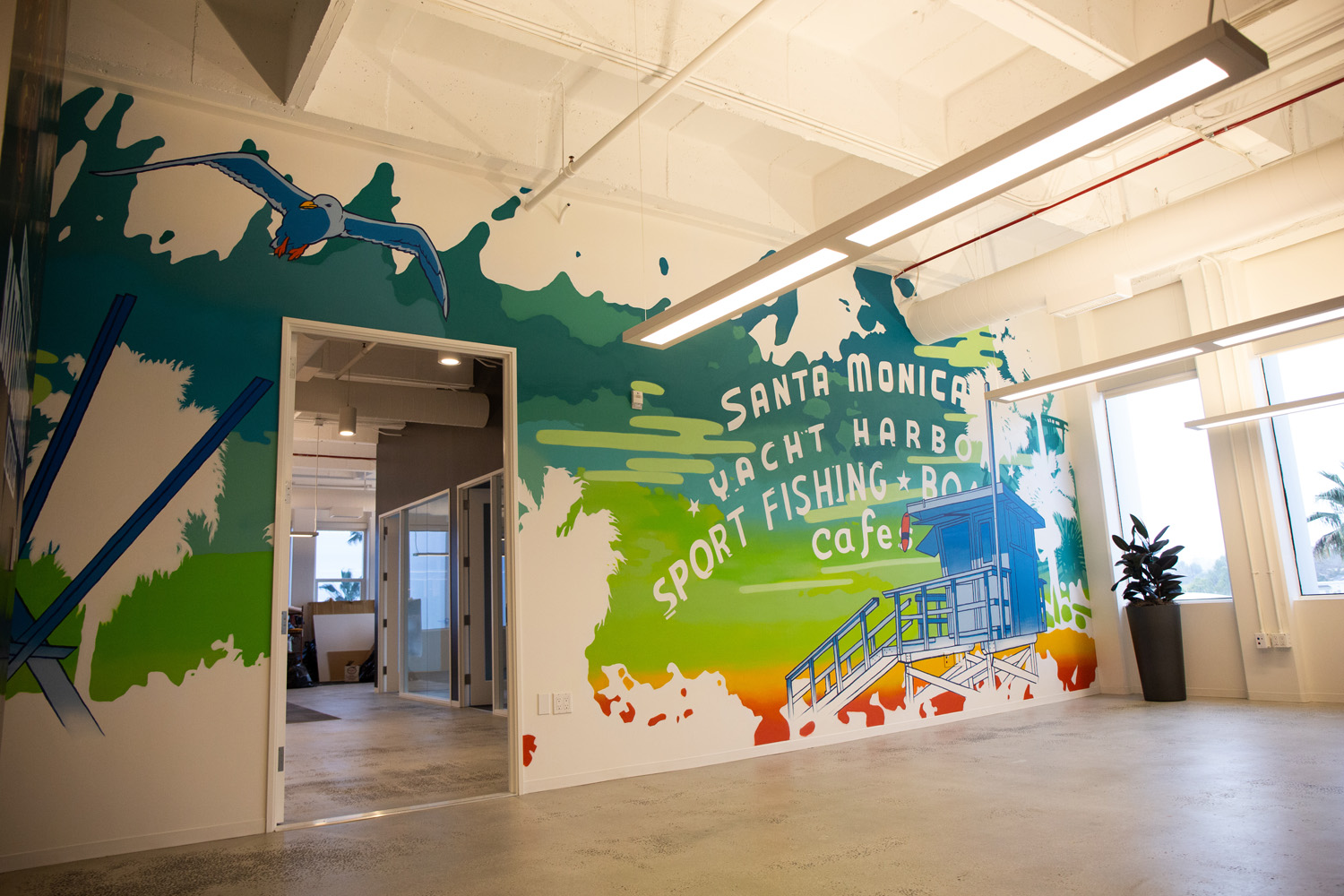 Los Angeles Corporate Office Mural