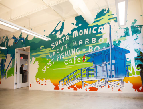 Los Angeles Corporate Office Street Art Mural – Lightspeed Studios