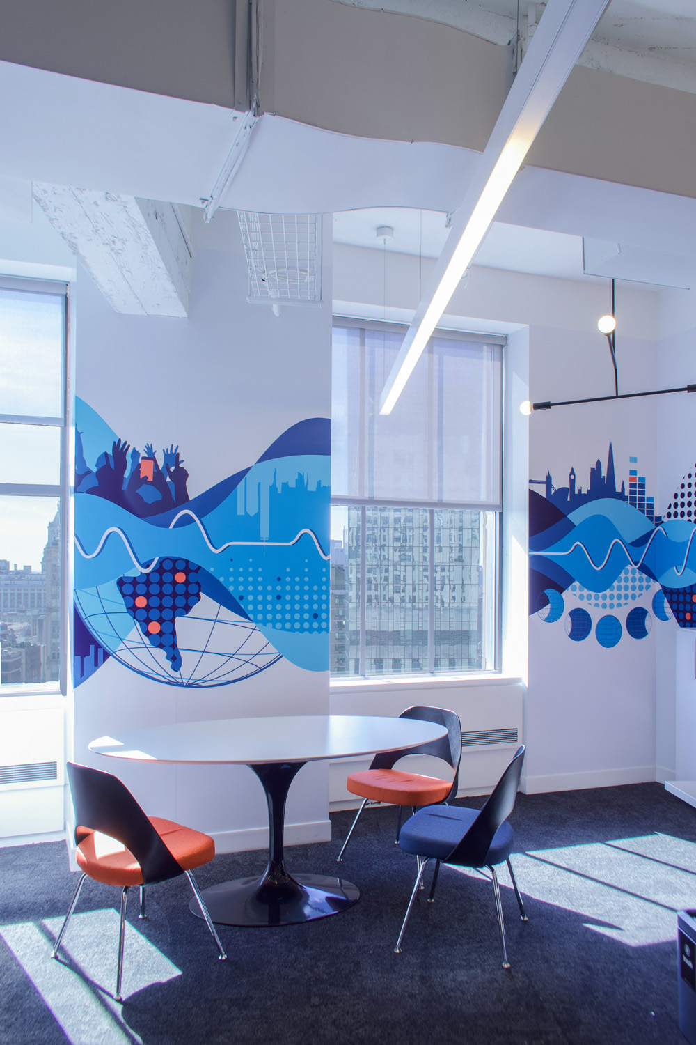 Office Mural Wallpaper