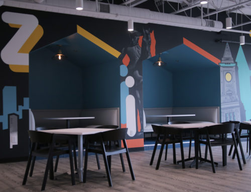 Boston Mural Company – Graffiti Office Art Installation