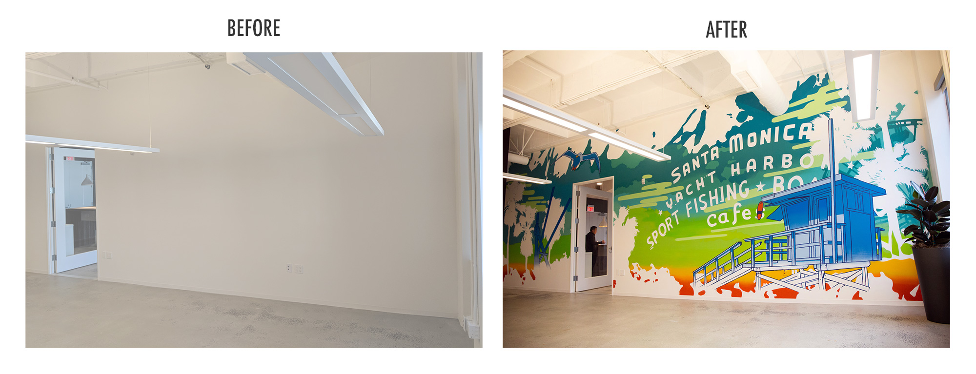 LA Mural for Offices