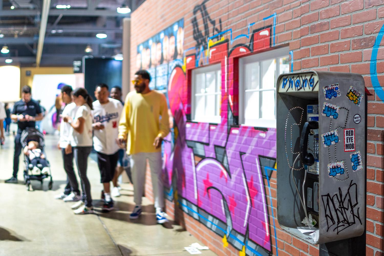 Graffiti Street Set Build Out