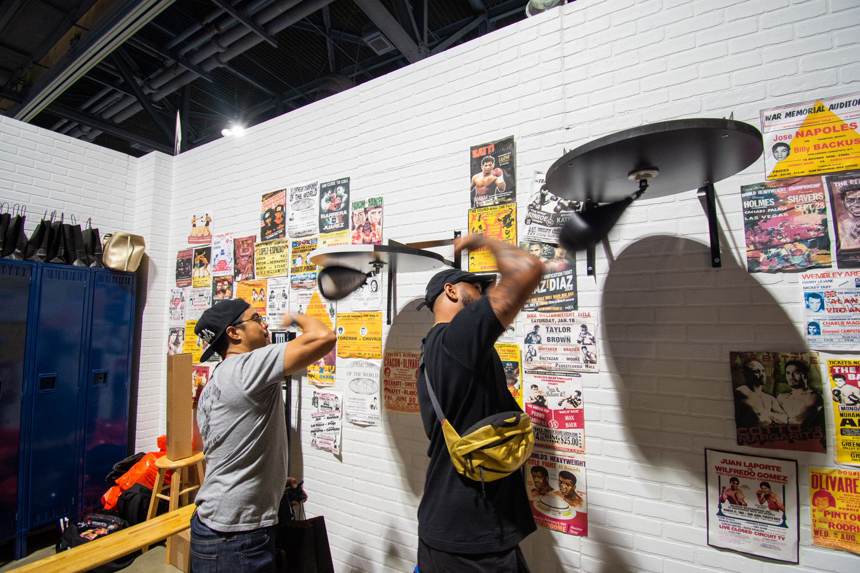 Boxing Gym Set Build