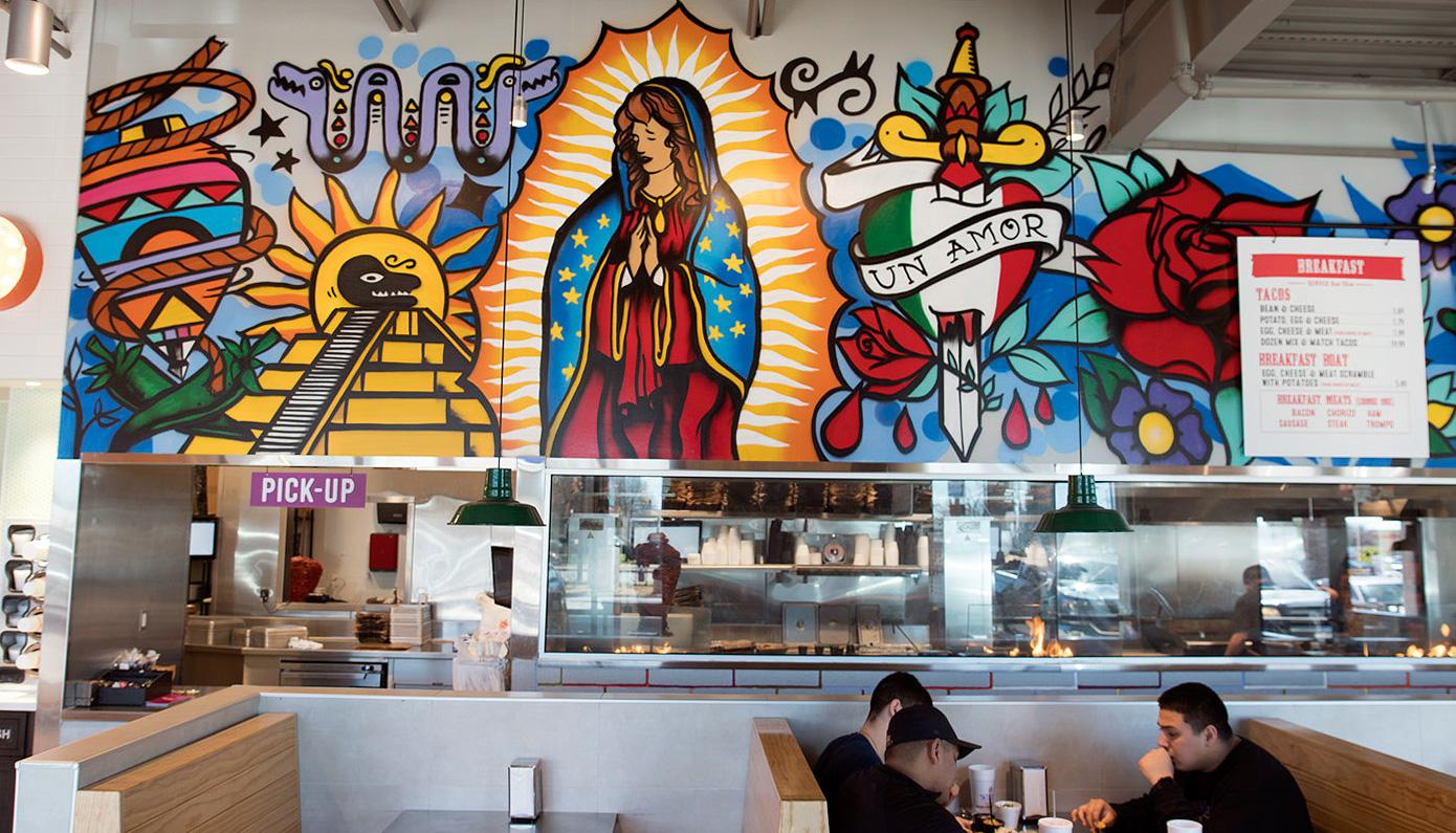 Mexican Street Art Mural - Dallas TX