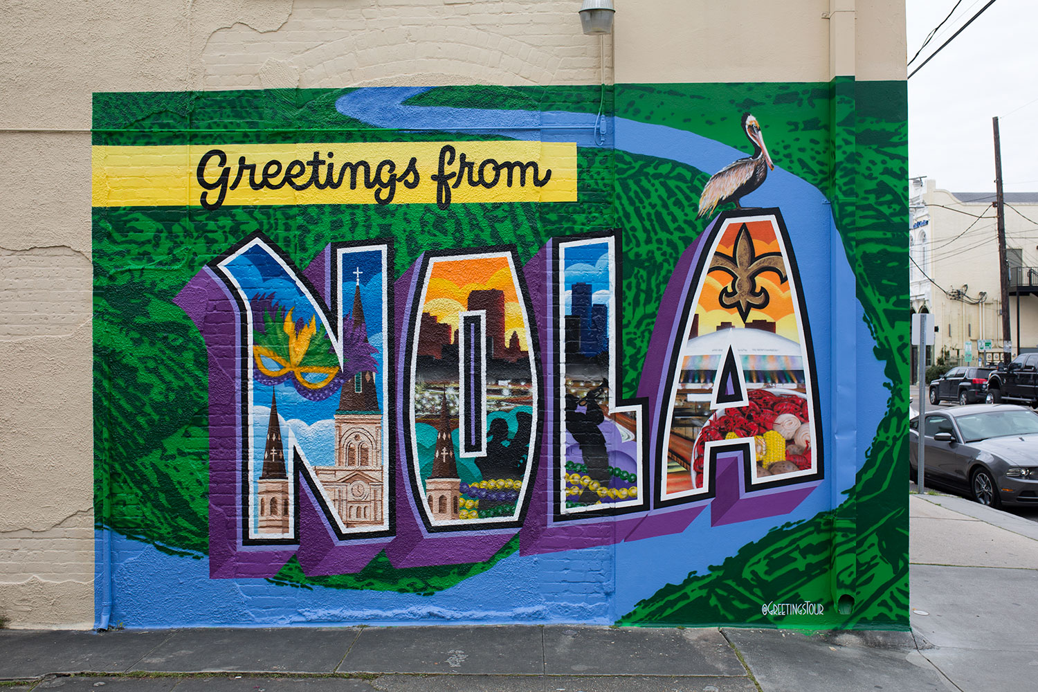 Greetings from NOLA Mural