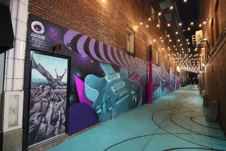 Graffiti Mural Louisville