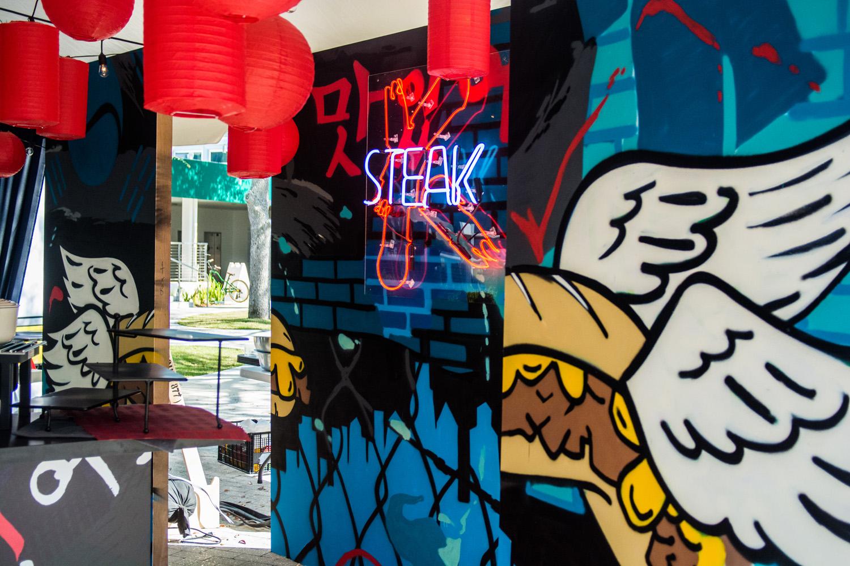 Graffiti Mural in Miami