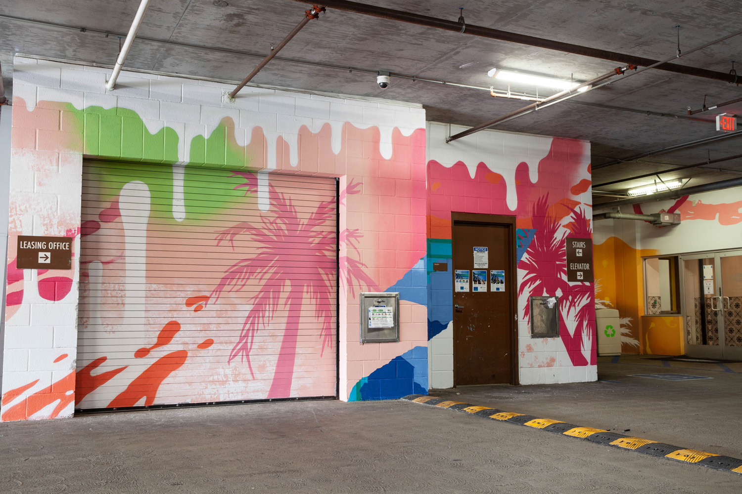 San Diego Mural Company - Parking Garage