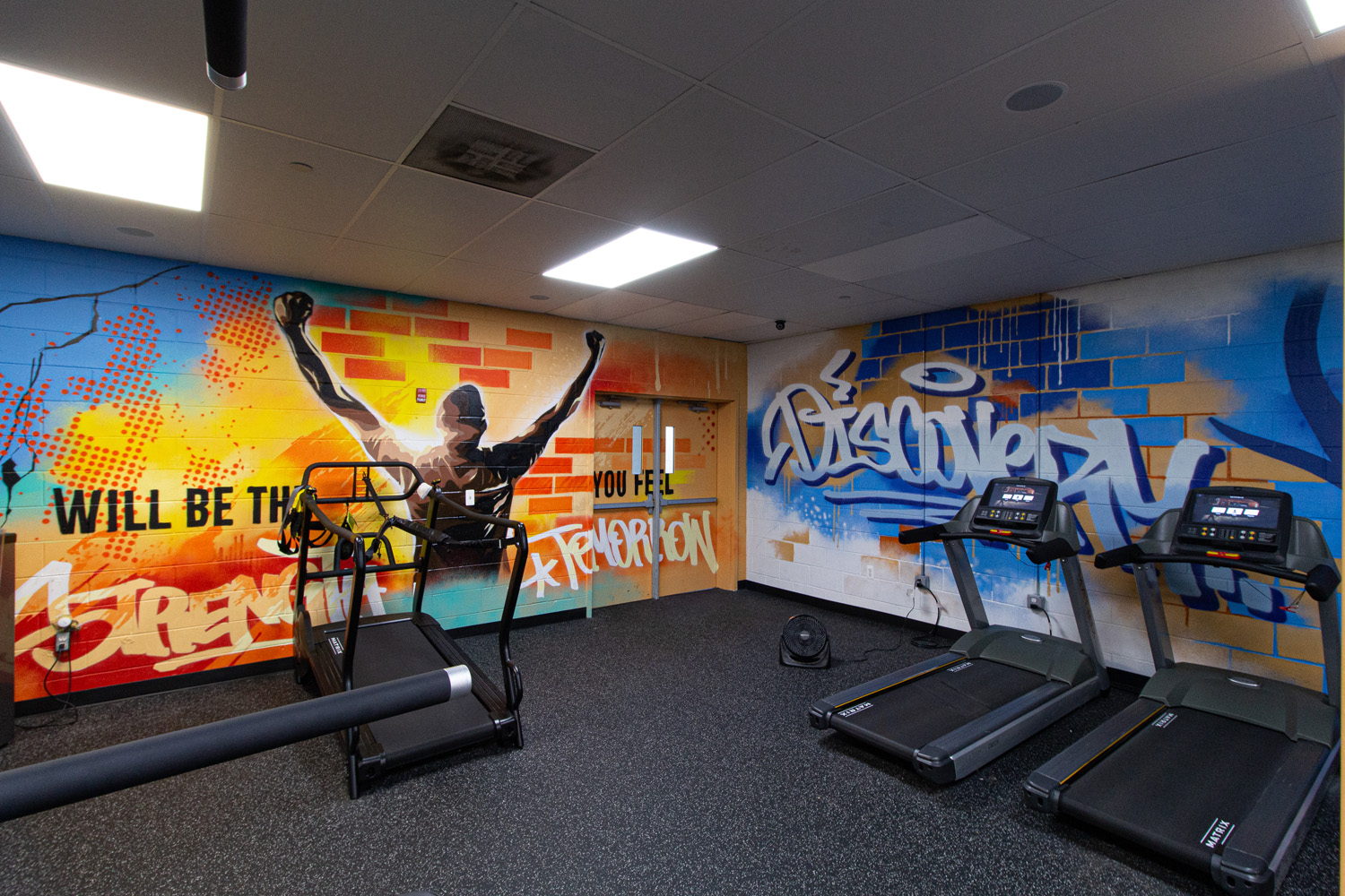 Mural Painter NJ - Gym
