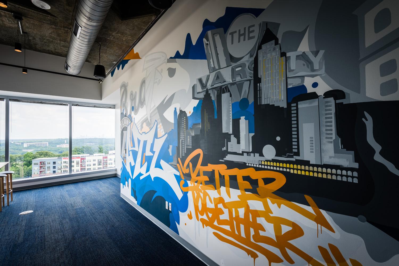 Professional Graffiti Artists - Office Mural