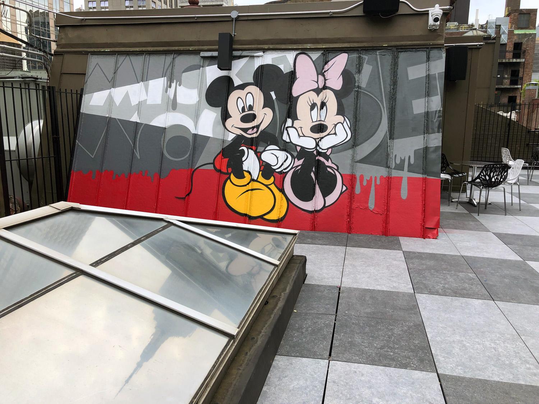 cartoon graffiti art