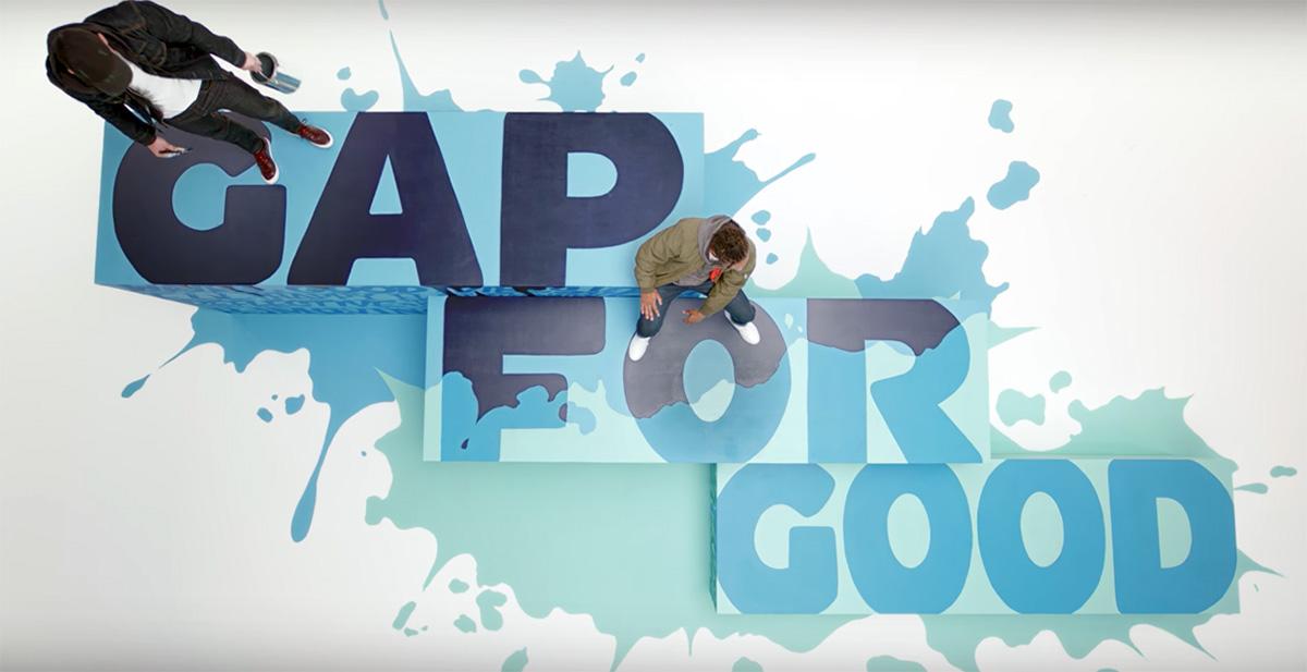 Portland Mural Artist - Gap